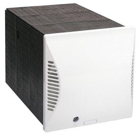 Viessmann Wandhülse (quadratisch) mit Außenwandblende für Vitovent 200-D zur Montage des dezentralen Lüftungsgerätes Vitovent 200-D in einem quadratischen Wanddurchbruch (mind. 325 x 325 mm).