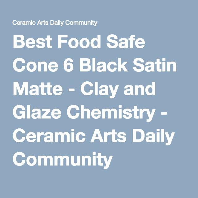Food Safe Cone  Glaze Recipes