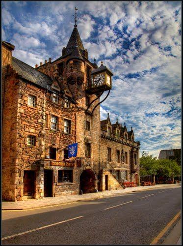 Royal Mile. Canongate Tolbooth. Edinburgh, Scotland
