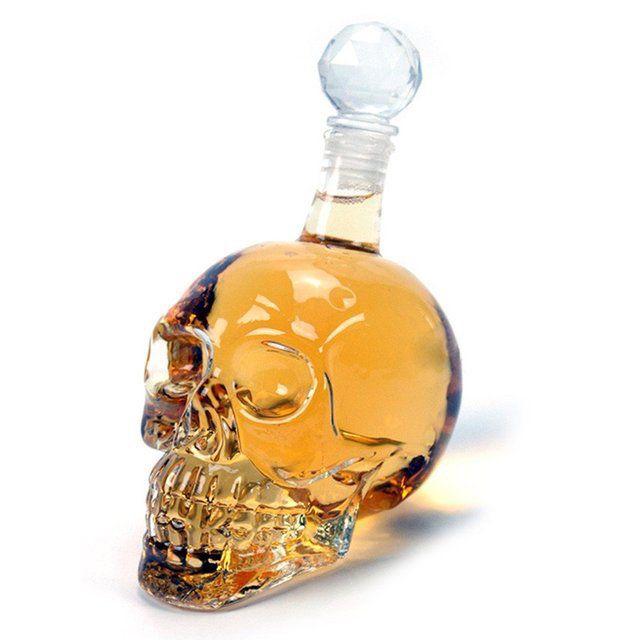 An unconventional bottle...