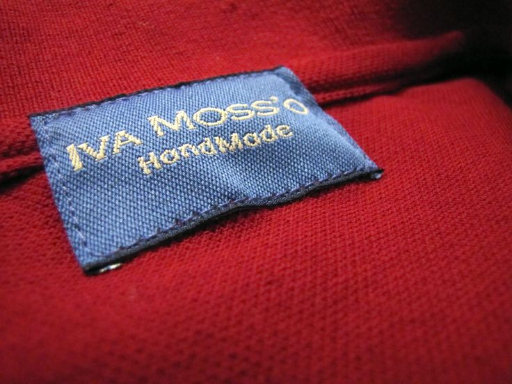 Polo IVA MOSS'O. Cool clothes, brand new IVA MOSS'O.