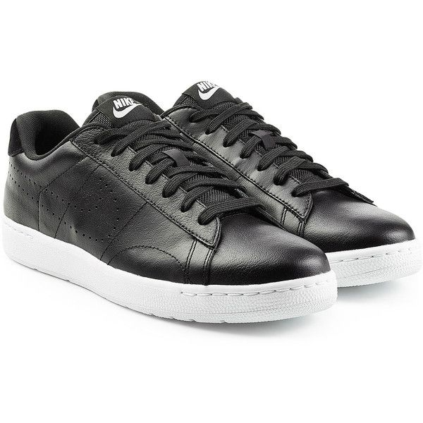 Nike Tennis Classic Ultra Leather Sneakers ($135) ❤ liked on Polyvore  featuring men's fashion