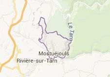 Map of mostuejouls