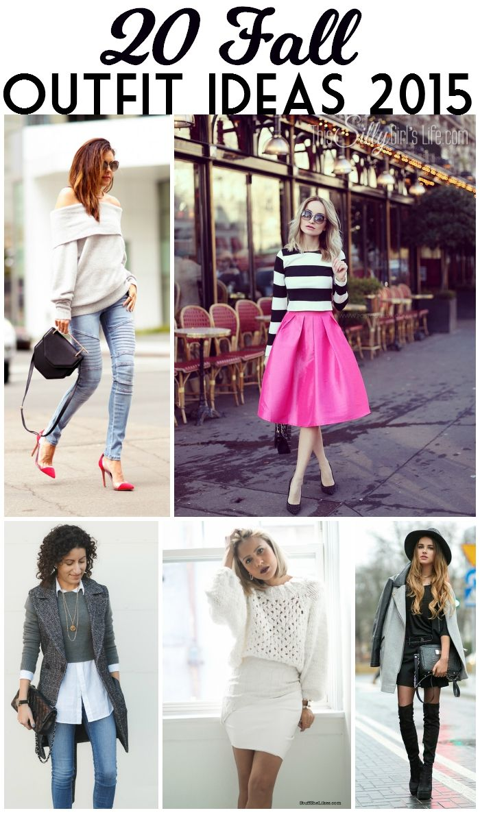 20 Fall Outfit Ideas 2015 - This Silly Girl's Kitchen