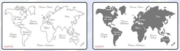 Vinilo mapamundi infantil solo mapa vinilos mapamundi pinterest - Vinilo mapamundi infantil ...
