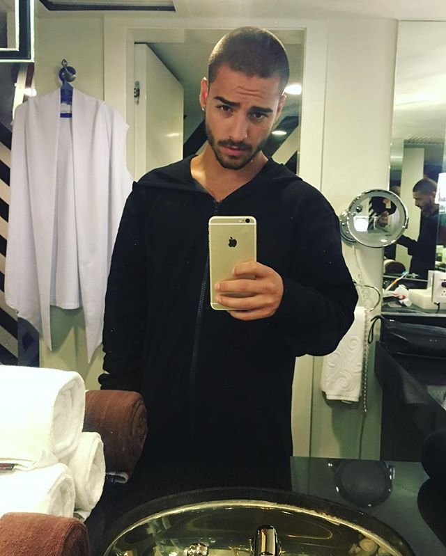Pin for Later: Brace Yourself For These Incredibly Sexy Pictures of Maluma When His Eyebrow Furrow Made Us Weak