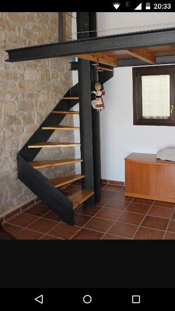 Escalera poco espacio