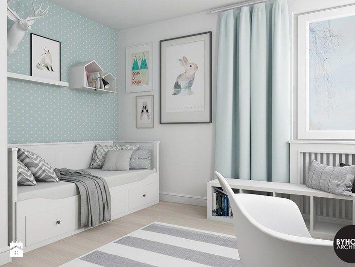 scandiHOUSE - Średni pokój dziecka dla chłopca dla dziewczynki dla nastolatka, styl skandynawski - zdjęcie od BYHOUSE ARCHITECTS