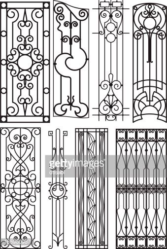 art deco steel fence designs - Google Search