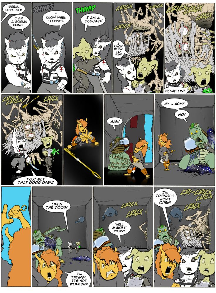Goblins webcomic - the first 3 panels are awesome.