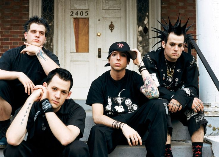 My original favorite punk band...Good Charlotte. They got me through a lot of rough nights...