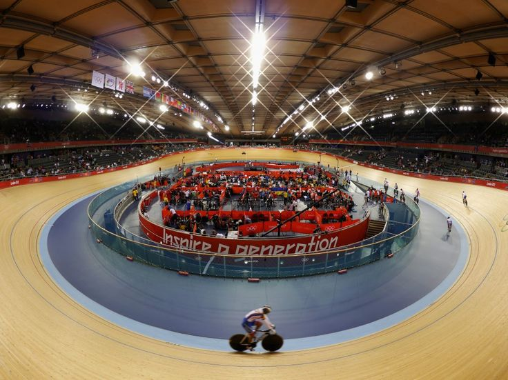 indoor cycling tracks | Panasonic's London 2012 Photos of the Day