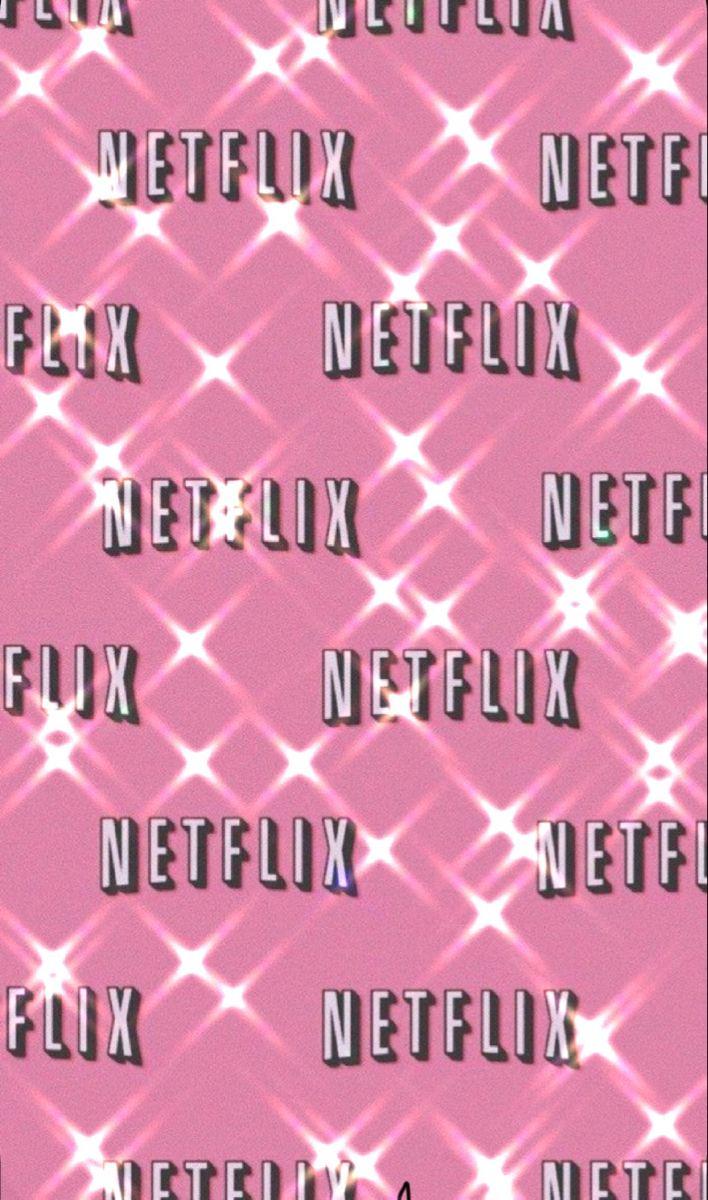 Netflix Bling Pink Neon Wallpaper Pink Wallpaper Backgrounds Pink Tumblr Aesthetic