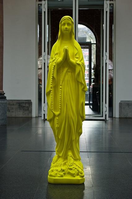 Madonna Sculpture by Katharina Fritsch