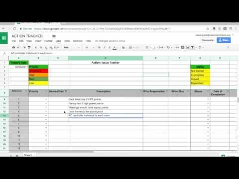 In case you missed it, here you go 🙌 How to use project action tracker https://youtube.com/watch?v=oLcdPqcukRM