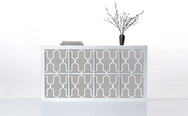 would go with the west elm pouf!! PANYL for IKEA EXPEDIT / KALLAX | PANYL self-adhesive furniture finishes