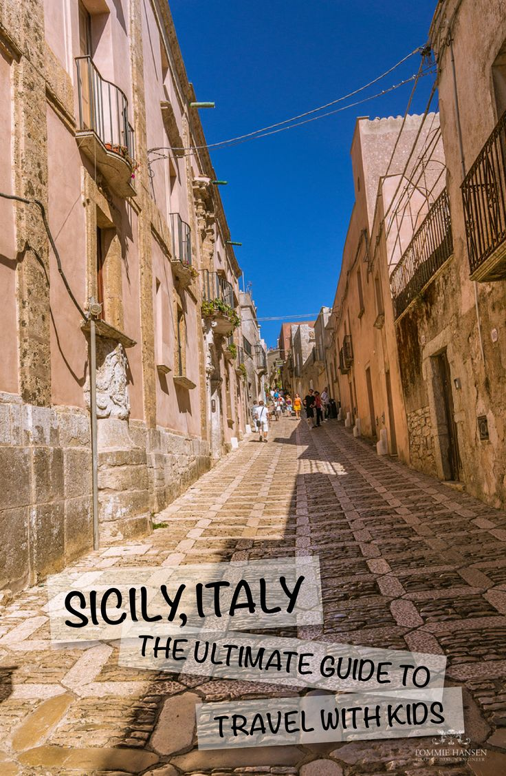 italy sicily travelling with children