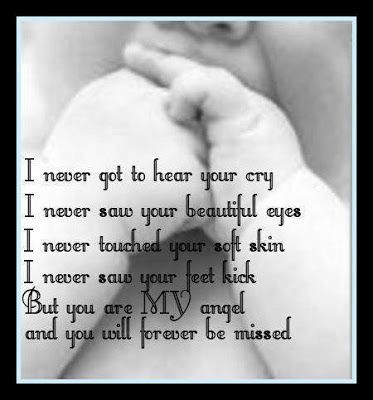quotes loss of a baby | My Little Angel Poem