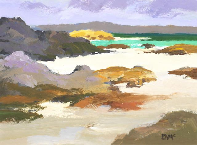 Donald McIntyre (British, 1923-2009) Iona shore