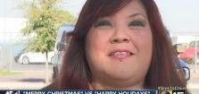 """Salvation Army bell ringer punched for saying 'Happy Holidays' instead of 'Merry Christmas' - """"The lady looked at me,"""" Vindiola recalled. """"I thought she was going to put money in the kettle. She came up to me and said, 'Do you believe in God?' And she says, 'You're supposed to say Merry Christmas,' and that's when she hit me."""" Because nothing honors your religion more than punching someone in the face."""
