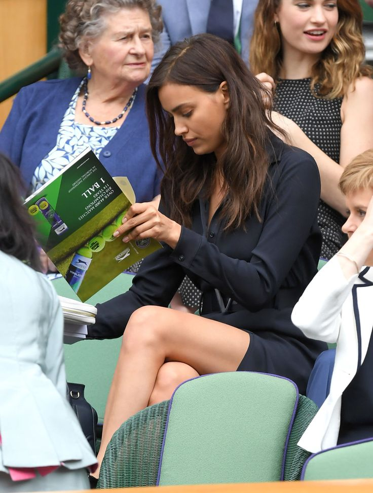 This Is Why Irina Shayk Was Crying at Wimbledon