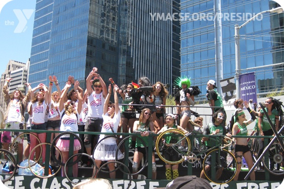 What a fabulous time we had dancing and walking in the San Francisco Pride Parade 2012. June 24, 2012