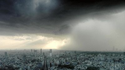 5:01 p.m. — make that surprise thunderstorm speed past you… | A Day In The Life Of Someone Who Can Manipulate Time