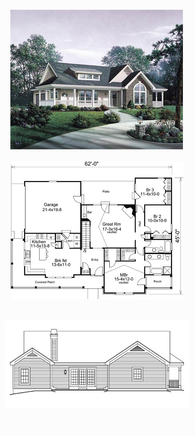 953 best house plans small er images on pinterest for Best selling floor plans