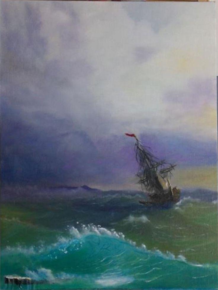 Aivazovsky Study #1