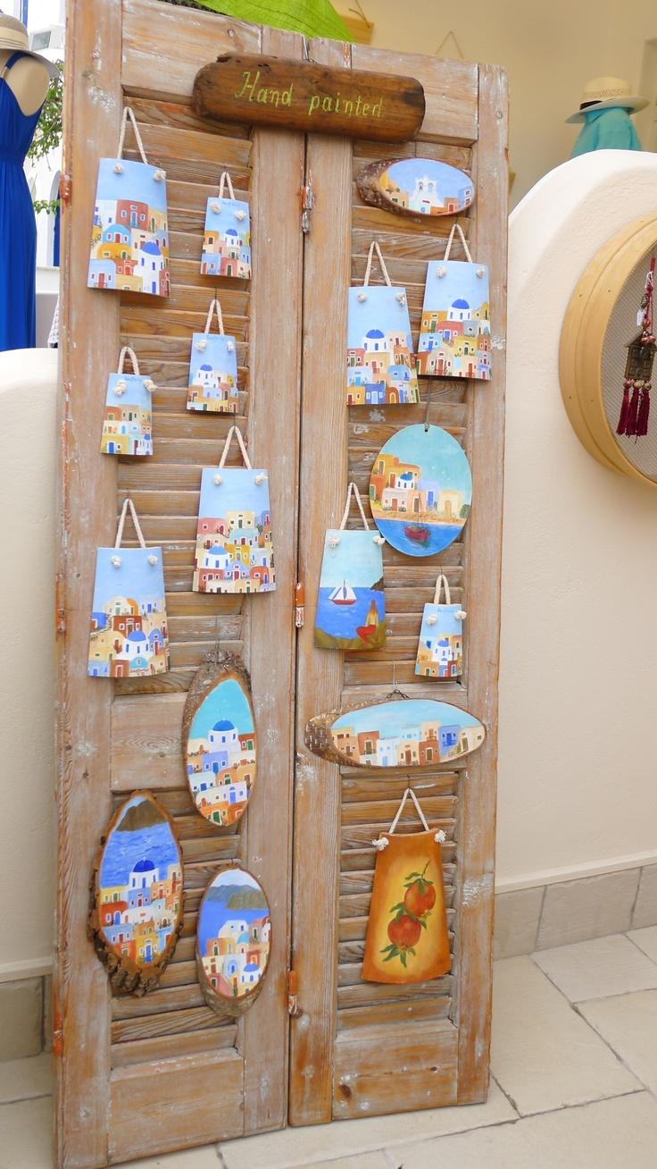 Santorini souvenirs ------ I want one!!!