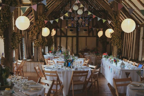 A Village Fete Inspired, Wild Flower Wedding at Winters Barns