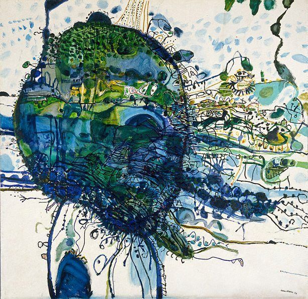 John Olsen, Five Bells (1963), Art Gallery of NSW