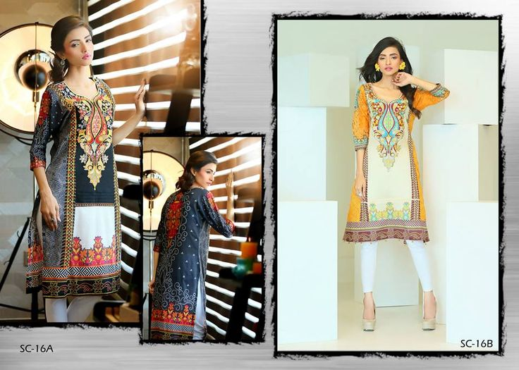 Bashir Ahmad Sehr Design of Kurti 2015 for summer)