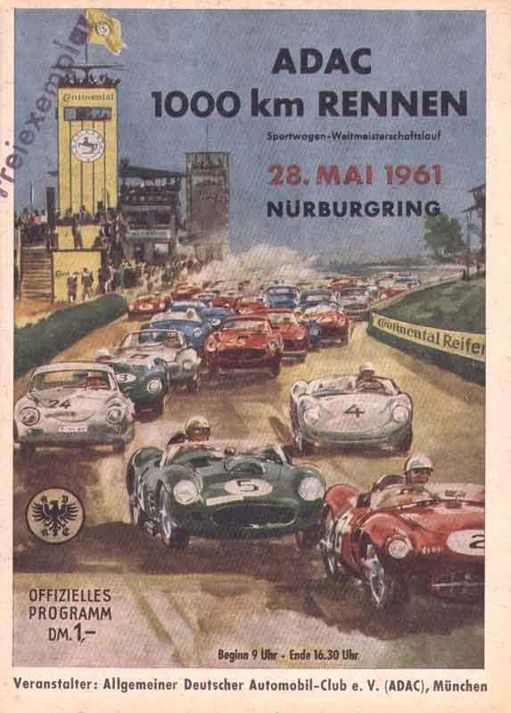'1962 Nürburgring, ADAC 1000km Rennen'