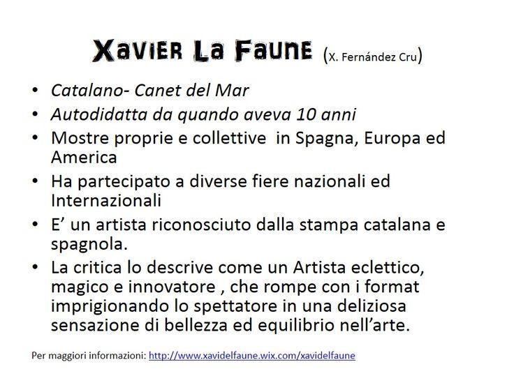 Xavier La Faune: Presentacion