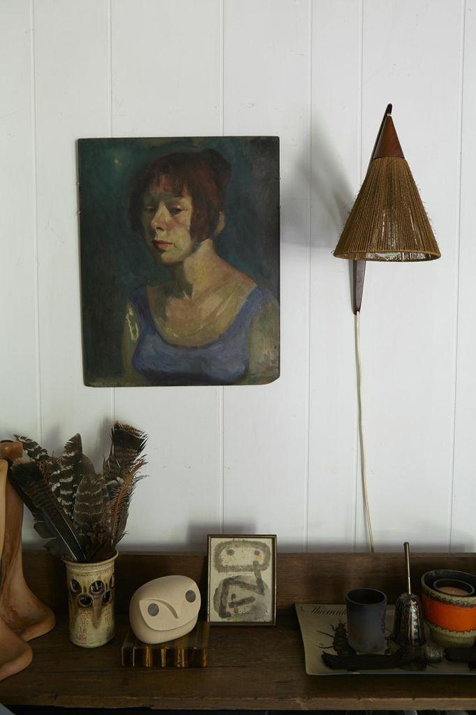 blueberrymodern:  upstate NY cottage of Laura Silverman and George Billard - via remodelista