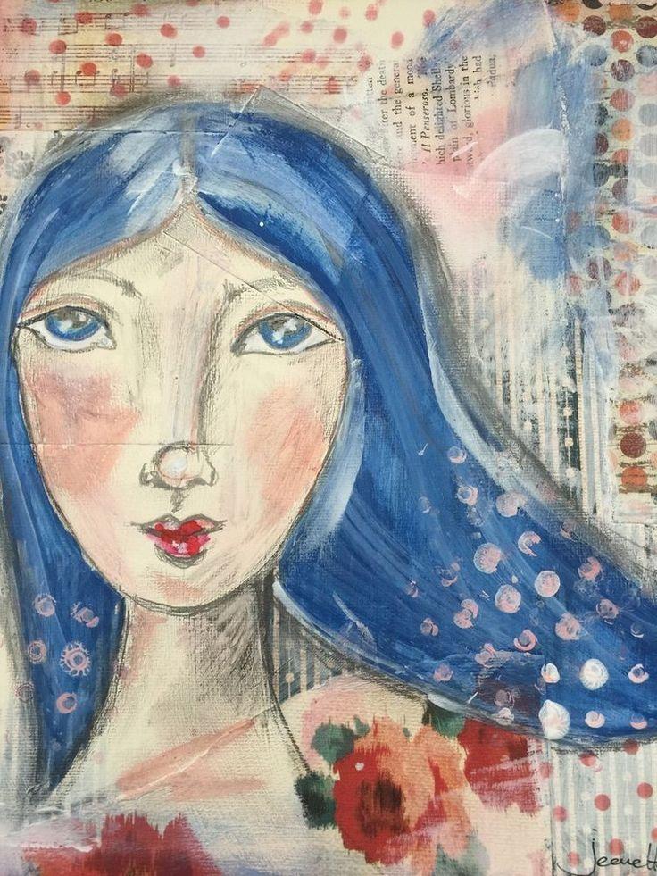 17 Best Images About Jeanette S Folk Art On Pinterest