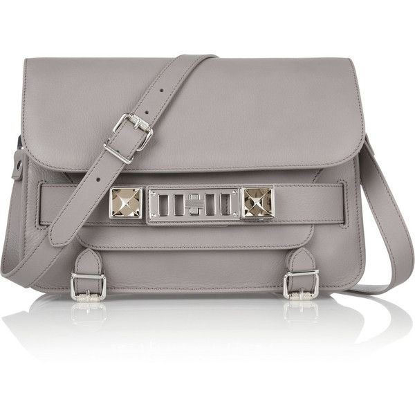 Proenza Schouler The PS11 Classic textured-leather shoulder bag found on Polyvore