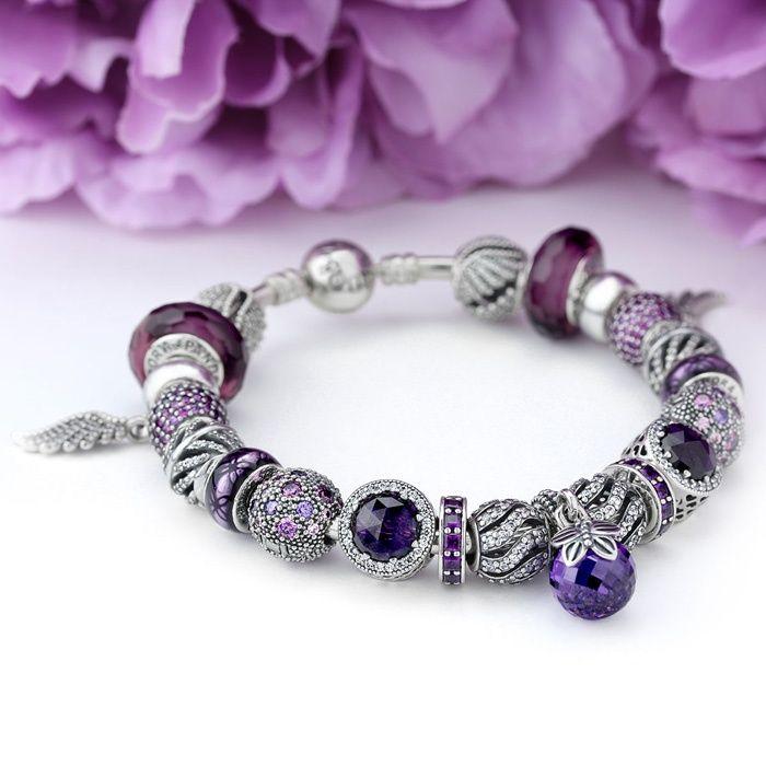 best 25 pandora purple charms ideas on pinterest