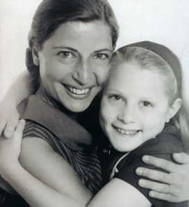 Ruth Bader Ginsburg with her daughter, Jane