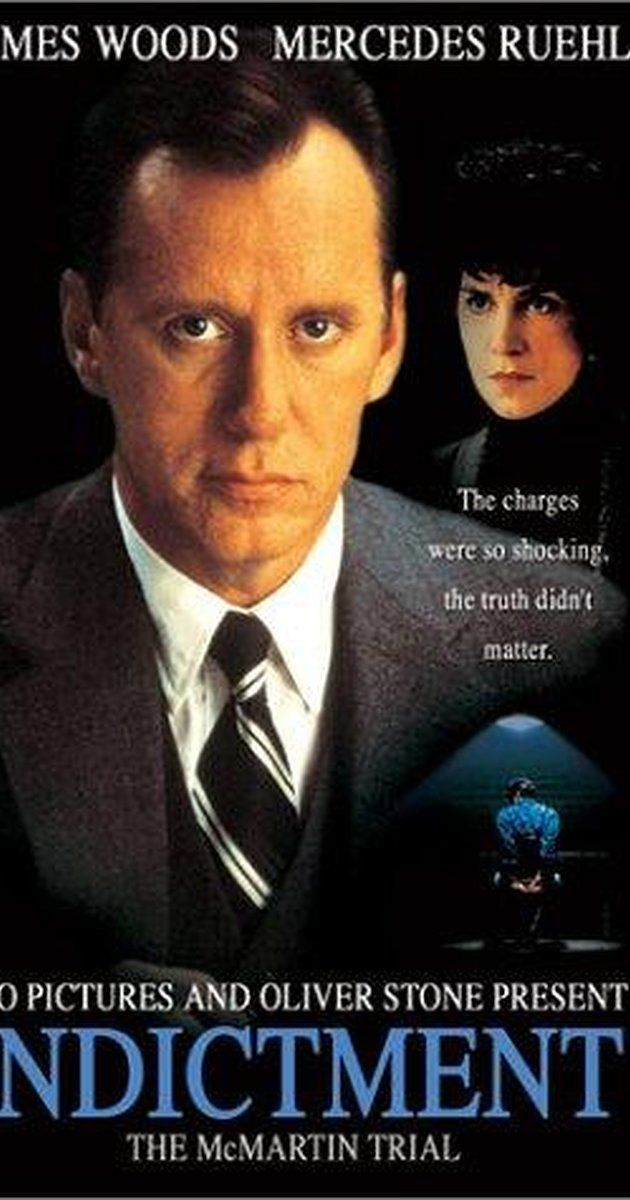"""Directed by Mick Jackson.  With James Woods, Mercedes Ruehl, Lolita Davidovich, Sada Thompson. The McMartin family's lives are turned upside down when they are accused of serious child molestation. The family run a school for infants. An unqualified child cruilty """"expert"""" videotapes the children describing outrageous stories of abuse. One of the most expensive and long running trails in US legal history, exposes the lack of evidence and unprofessional attitudes of the finger pointers…"""