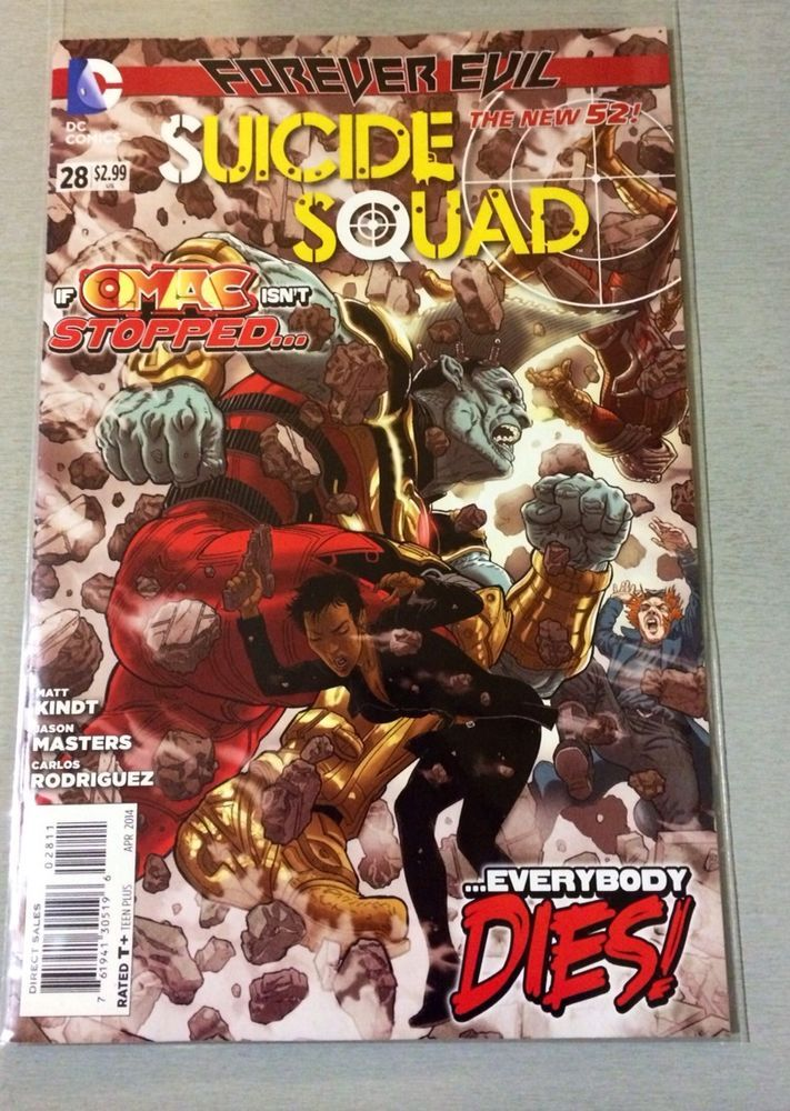 DC New 52- Suicide Squad - Issue # 28 - 1st Print