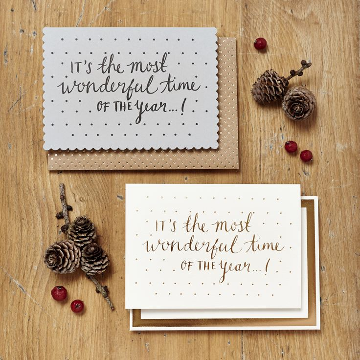 I'm feeling very festive this year so I've rounded up some of my favourite Christmas cards