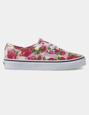 81e8ba3d33d3 VANS Romantic Authentic Floral Womens Shoes Vans Classic Slip On