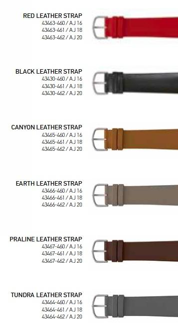 Rosendahl - Arne Jacobsen Watch Strap Colors