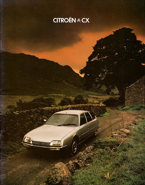Citroen CX UK brochure