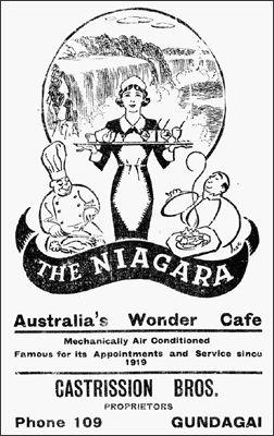 The Niagara - a famous Greek Café and milk bar