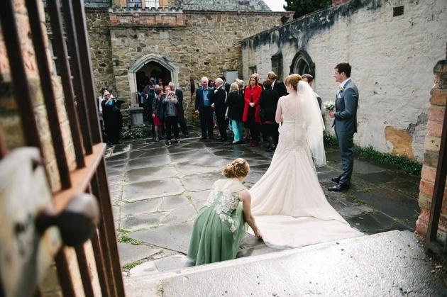 Wedding at Montsalvat   Claire & James