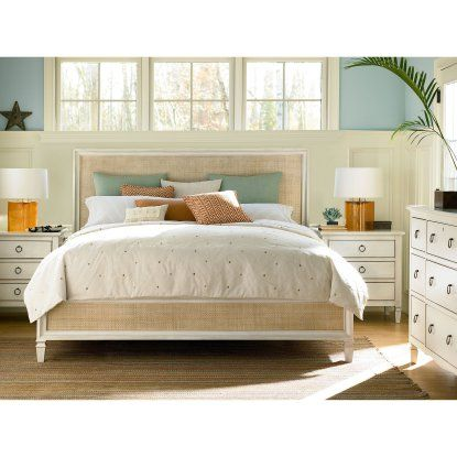 Summer Hill Woven Low Profile Bed - Cotton - Beds at Hayneedle