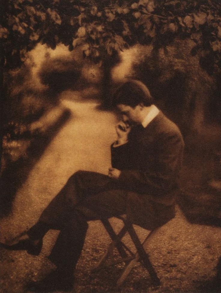 George Bernard Shaw  Portrait of Alvin Langdon Coburn  1906,Photogravure  From Stieglitz: Camera Work: Coburn Shaw, Coburn 1906, Shaw 1906, Alvin Coburn, Alvin Langdon Coburn, George Bernard Shaw, 291 Camera Work